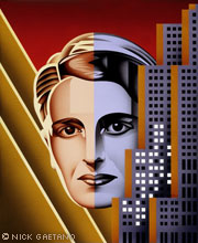 The Ayn Rand Stamp, by Nick Gaetano